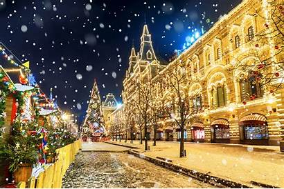 Winter Russian Holiday Moscow National Tourist