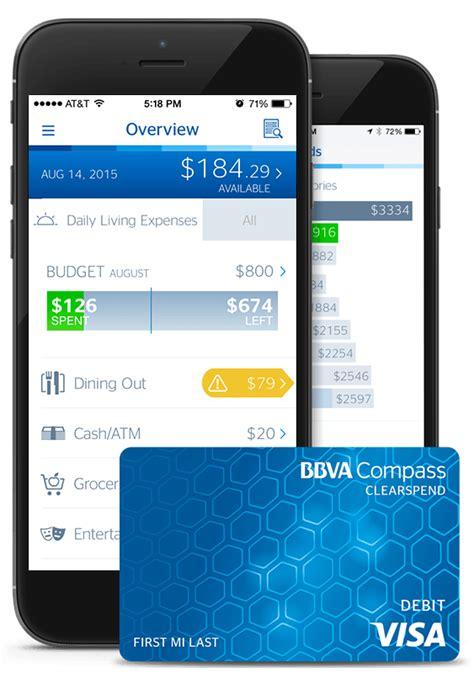 BBVA Compass Prepaid ClearSpend Visa® Card – BankingNinja.com