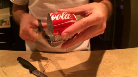 comment fabriquer un bureau comment faire un bruleur avec une canette