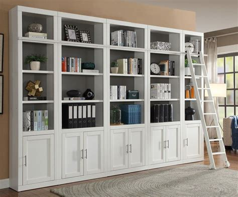 Home Furniture Bookshelves by Modular Bookcase Wall 402 Bookcase Wall