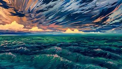 4k Digital Scenery Wallpapers Artist Backgrounds Artwork