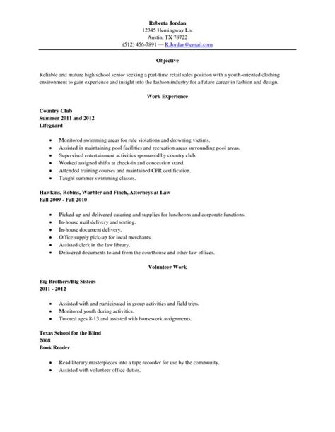 membership counselor resume exle 24 resume exle high 28 images exle of resume for a