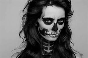 Maquillage Squelette Facile : d guisement halloween facile 80 looks de derni re minute ~ Dode.kayakingforconservation.com Idées de Décoration