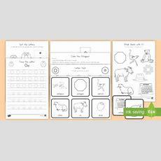 Letter O Activity Pack  Alphabet Packets, Letter Formation, Letter