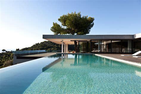 Moderne Villa Mit Pool by Moderne Villa Auf Griechenland Mit Gigantischem Pool
