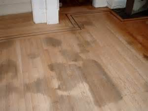how to remove black urine stains from hardwood floors best