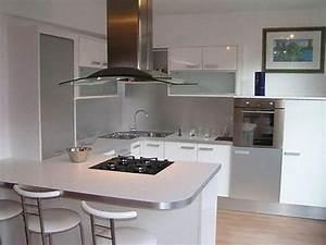 enchanteur plan de travail central cuisine ikea avec plan With plan de travail bar cuisine