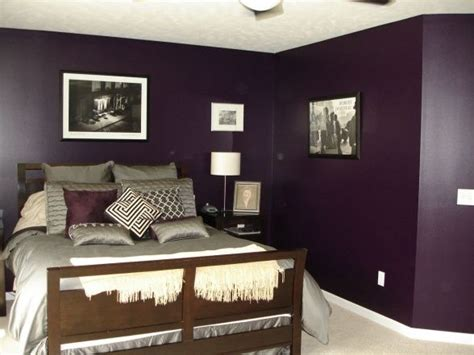 Plum Colored Bedrooms by A Purple Bedroom Might Actually Work Lower Sheen Quot Bluer