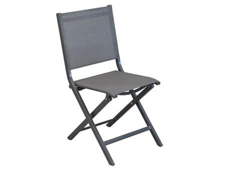 chaise d finition chaises de jardin en aluminium thema proloisirs