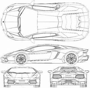 The gallery for gt lamborghini blueprint for 3d mazda furai