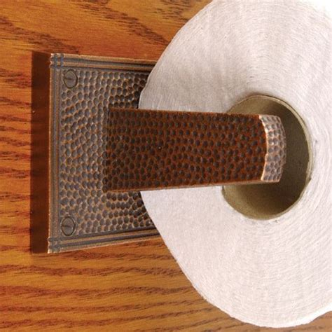 arts  crafts toilet tissue holder van dykes restorers
