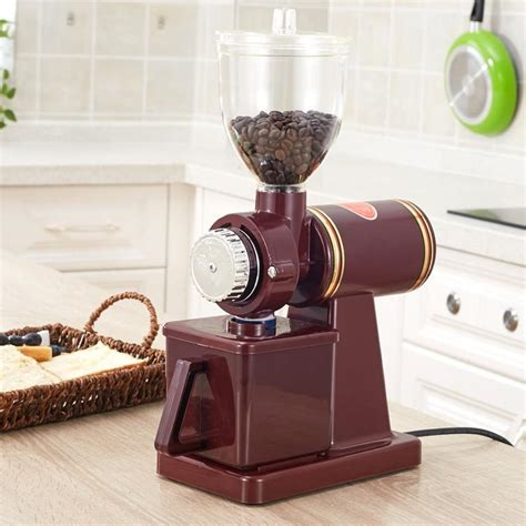 Like the most commercial espresso grinders, this one is also one of the best grinders for french press. Commercial Home 110V 220V Electric Mini Fully Automatic Burr Mill Espresso Coffee Grinder