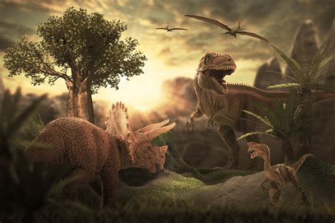 asteroid  killed  dinosaurs hit  worst