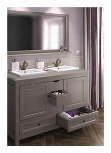 meuble salle de bain a poser boheme l12048878 salle de With meuble a poser salle de bain