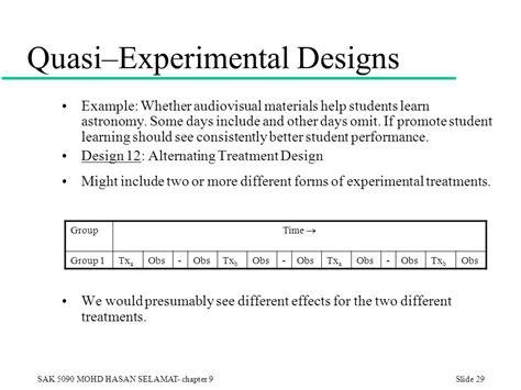 quasi experimental design experimental design a researcher can most convincingly