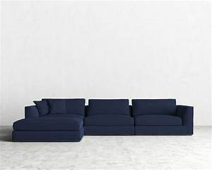 Deep seated sectional wesley hall sectional sofa for Sectional sofa with deep seating