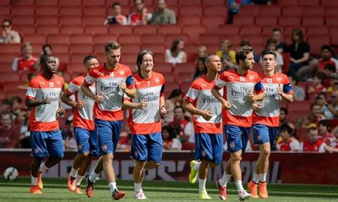 Arsenal line-up v Crystal Palace: Gunners trio miss out ...