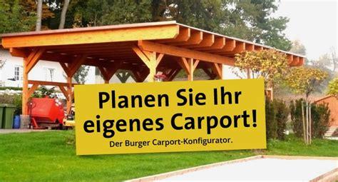 Carports Burger  Sägewerk & Holzhandel