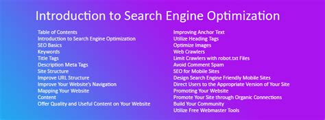 Seo Starter Guide - seo starter guide introduction guide to seo ignite