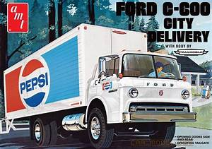 Ford C-600 Pepsi City Delivery Truck