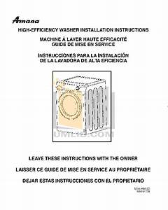 Download Free Pdf For Amana Nfw7200tw Washer Manual