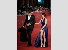 Italian actress suffers major wardrobe malfunction as she