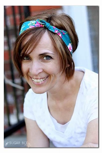 Knotted Headband Fabric Pattern Headbands Sugarbeecrafts Simple