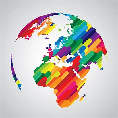 Abstract Colorful Symbol Vector Earth Shutterstock Research