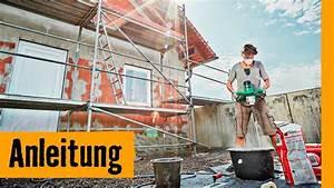 Fassade Neu Verputzen : fassade verputzen hornbach meisterschmiede youtube ~ A.2002-acura-tl-radio.info Haus und Dekorationen