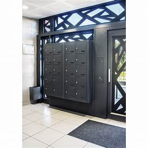 porte de hall personnalisee gamme securite renforcee cibox With porte renforcée