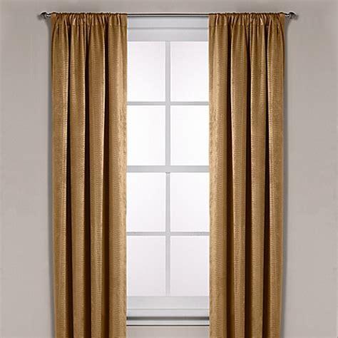 diamond texture rod pocket room darkening window curtain
