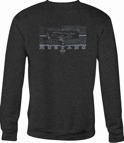 Mustang Ford Sweatshirt Crewneck Grill Sweatshirts Hoodies