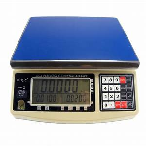 30kg/0.1g High Precision Counting Weighing Scale Balance ...