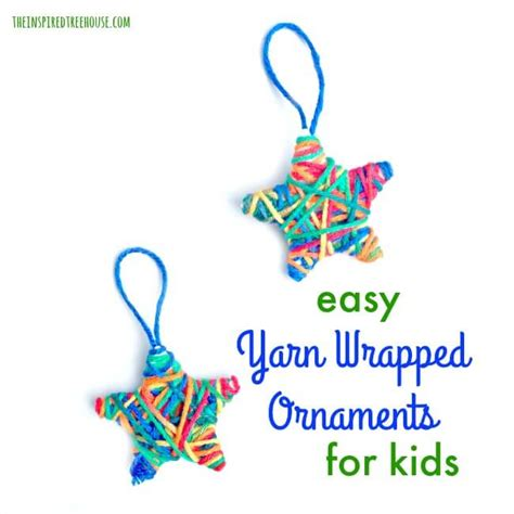 yarn wrapped tree ornaments crafts for yarn wrapped ornaments the 7363