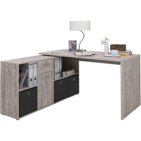 bureau gris bureau chêne gris acheter en ligne emob