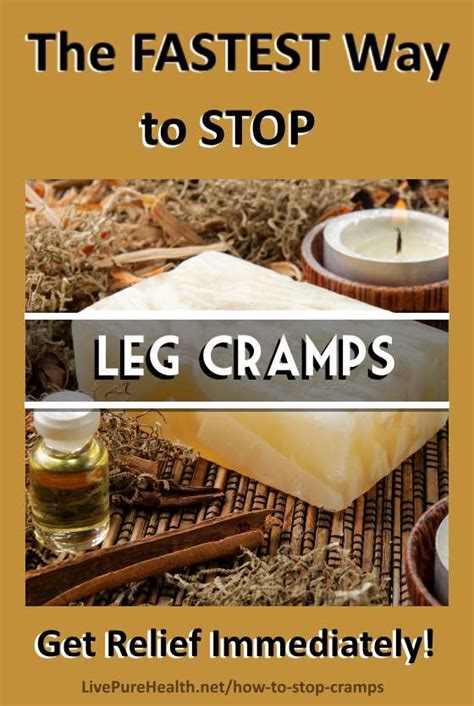 How To Stop Leg Cramps Immediately • Live Pure Health