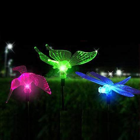 colored solar lights color changing solar garden lights images