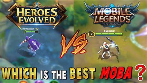 Mobile Legends Vs Heroes Evolved