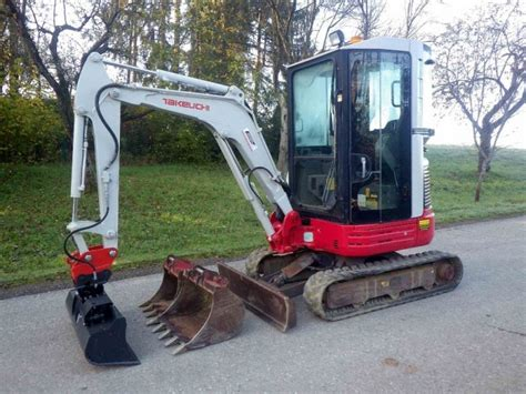 takeuchi tbr mini excavator  austria  sale  truck id