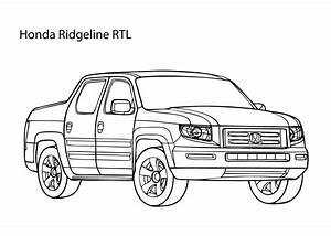super car honda ridgeline coloring page cool car With honda ridgeline car