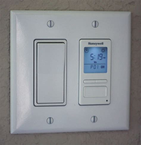 new indoor programmable light wall outlet switch timer
