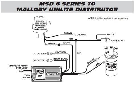 mallory unlite distributor wires not learning