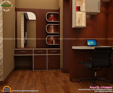Wash area, dining, kitchen interior   Kerala home design