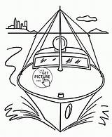 Coloring Boat Pages Speed Transportation Drawing Simple Wuppsy Boats Printables Sheets Motor Printable Toddlers Water Raft Truck Easy Getdrawings Getcolorings sketch template