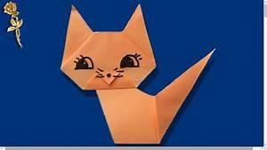 Origami Animaux Facile Gratuit : origami facile corps du chat youtube ~ Dode.kayakingforconservation.com Idées de Décoration