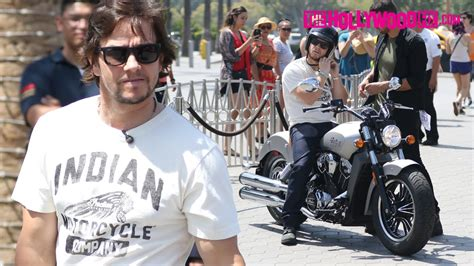 Wahlberg Indian Motorcycle by Wahlberg Rides An Indian Motorcycle Speaks On