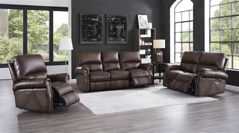 everybody raymond living room hydeline raymond walnut power 3pc living room set the