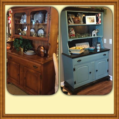 Painted Hutch Ideas - hometalk a hutch for my nook