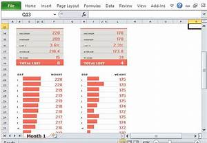 weight loss percentage excel group weight loss tracker template for excel