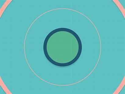 Round Animation Squares Flat Motion Animated Square